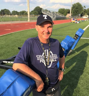 Bob Snell is entering his 31st season as Redford Thurston's varsity football coach.