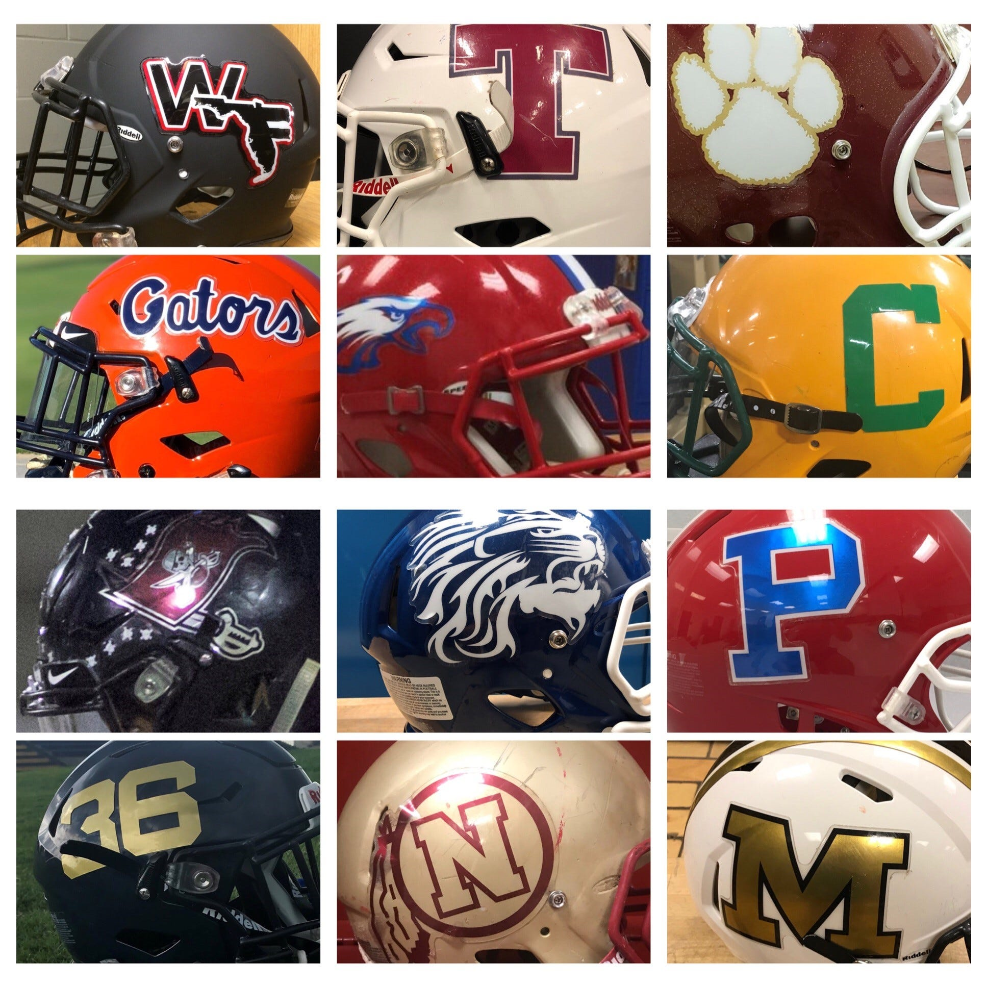 PNJ Helmet Wars allows you to vote for what you think is the best helmet for area schools.