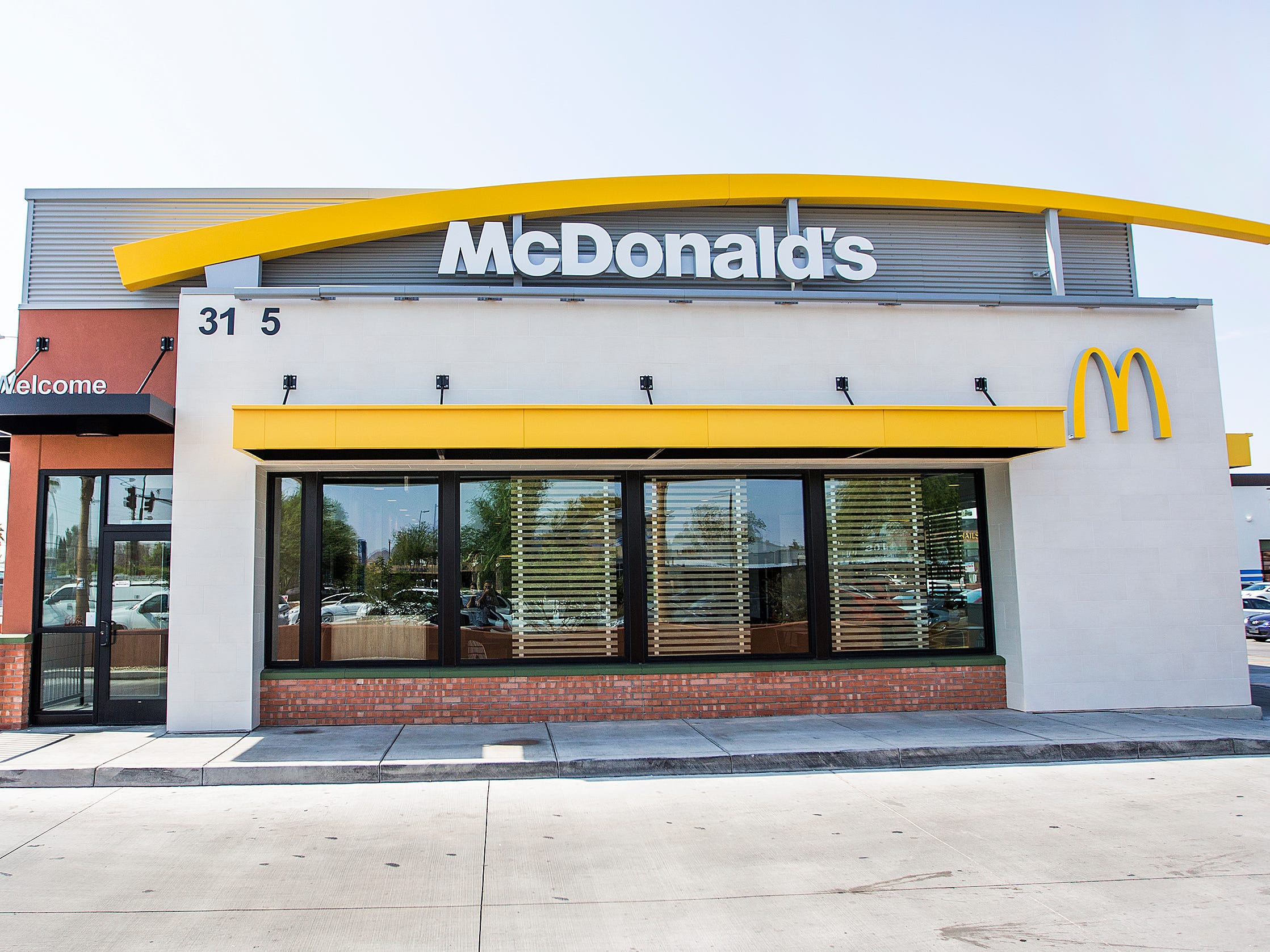 A major remodeling has taken place at the McDonald's at 32nd Street and Indian School Road in Phoenix.