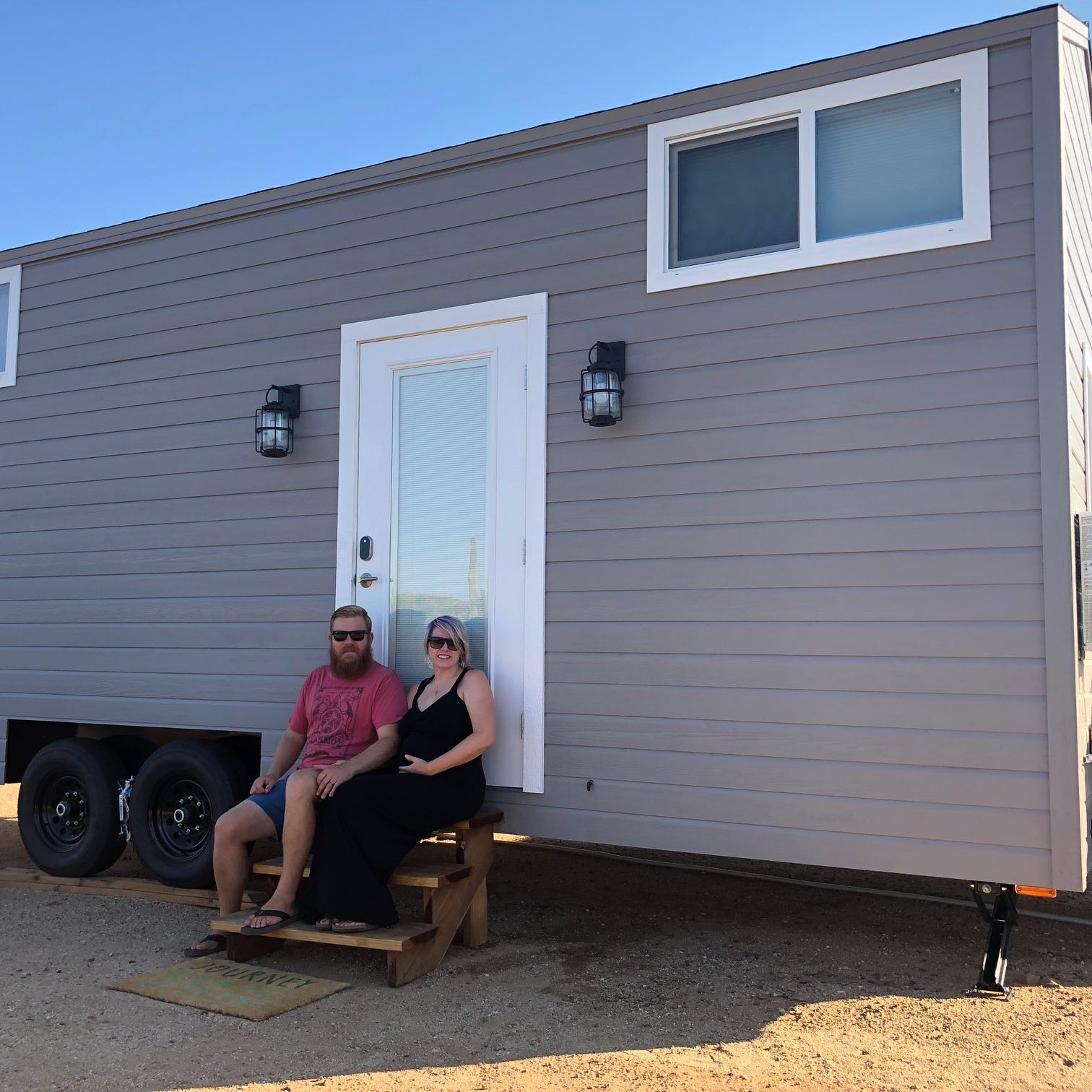 Arizona families brave uncharted territory in tiny homes