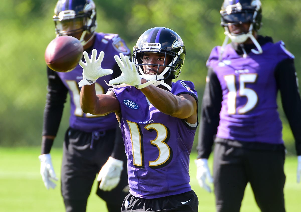 10068de0 Ravens wide receiver John Brown shining after move from Cardinals