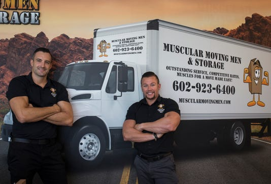 Muscular Moving Men in Phoenix