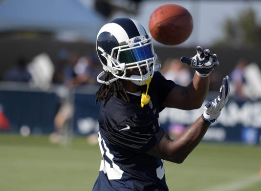 Nfl Los Angeles Rams Training Camp