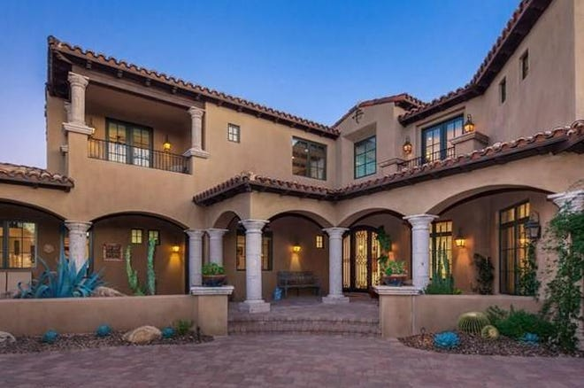 The Sandra H. and David P. Racz Revocable Trust purchased a four-bedroom, 4½-bathroom, 6,302-square-foot house at the Mirabel Club in Scottsdale for $2.3 million