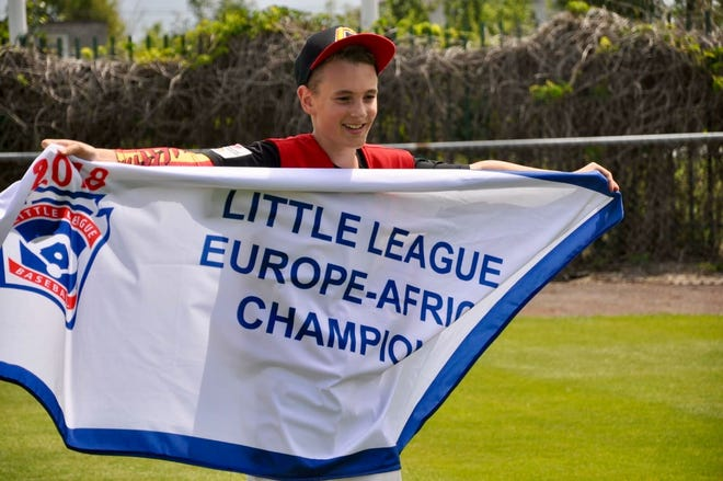 Zachary Freer, son of Cedar Crest grad Peter Freer, will compete in this year's Little League World Series with the Spanish team, Catalunya.