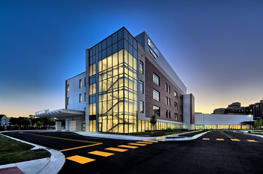 Newly Constructed South Patient Tower At Mclaren Port Huron