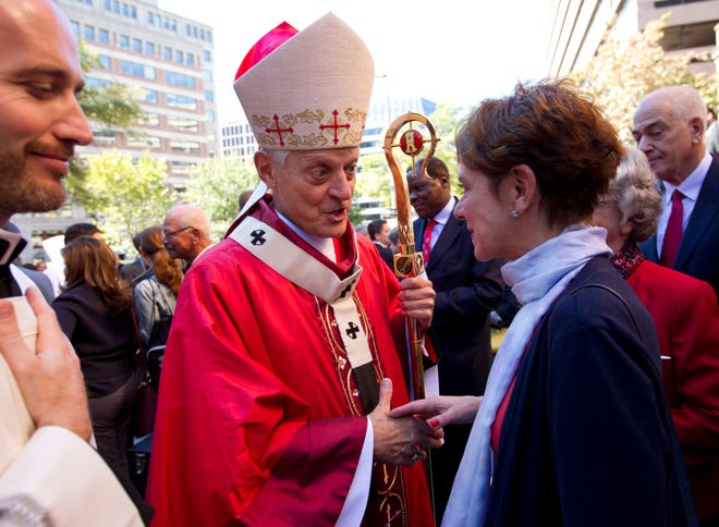 Cardinal Donald Wuerl, Archbishop of Washington, pictures in 2017.