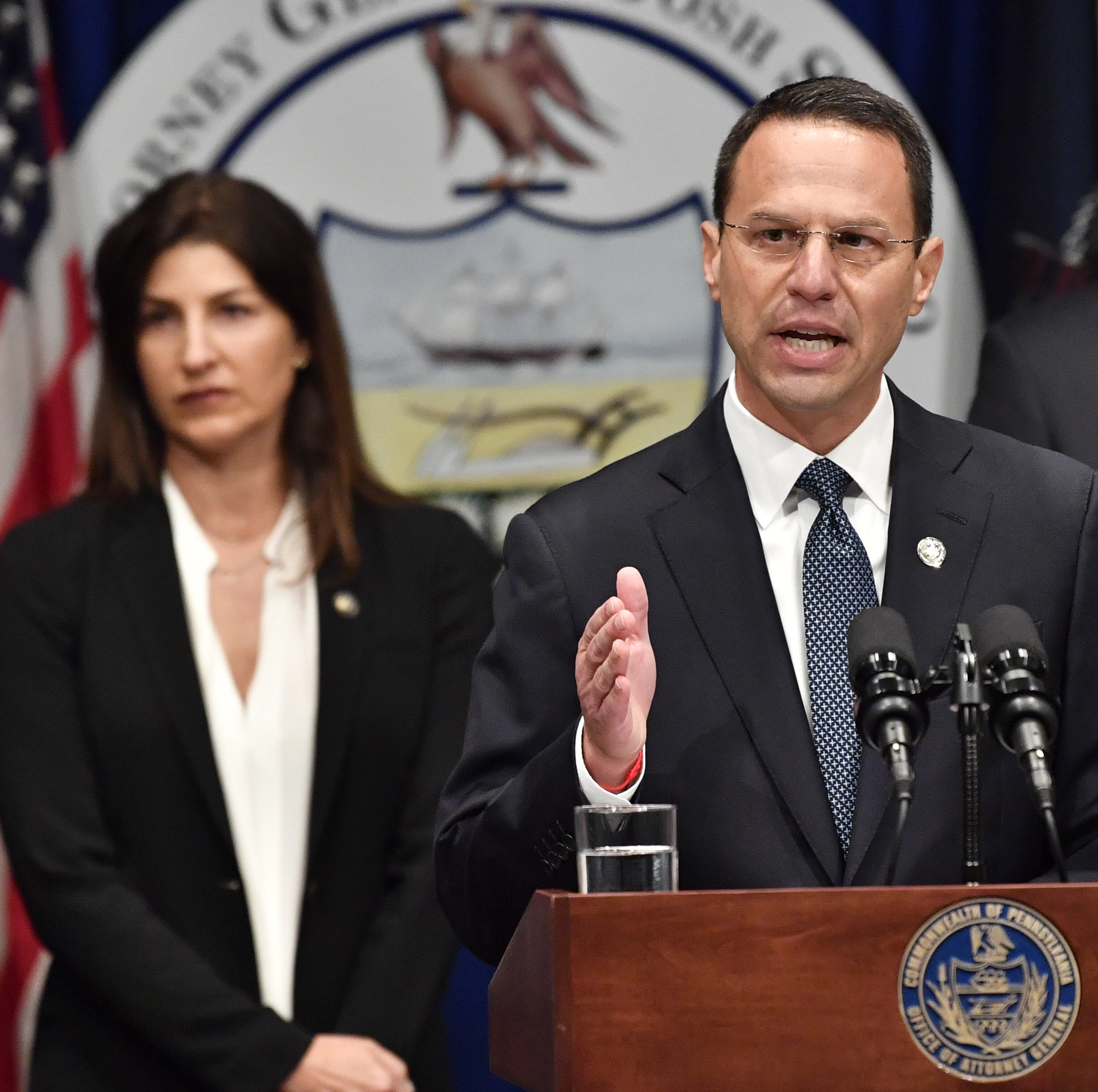 Watch live: Pa. attorney general talks about sweeping report on Catholic clergy abuse