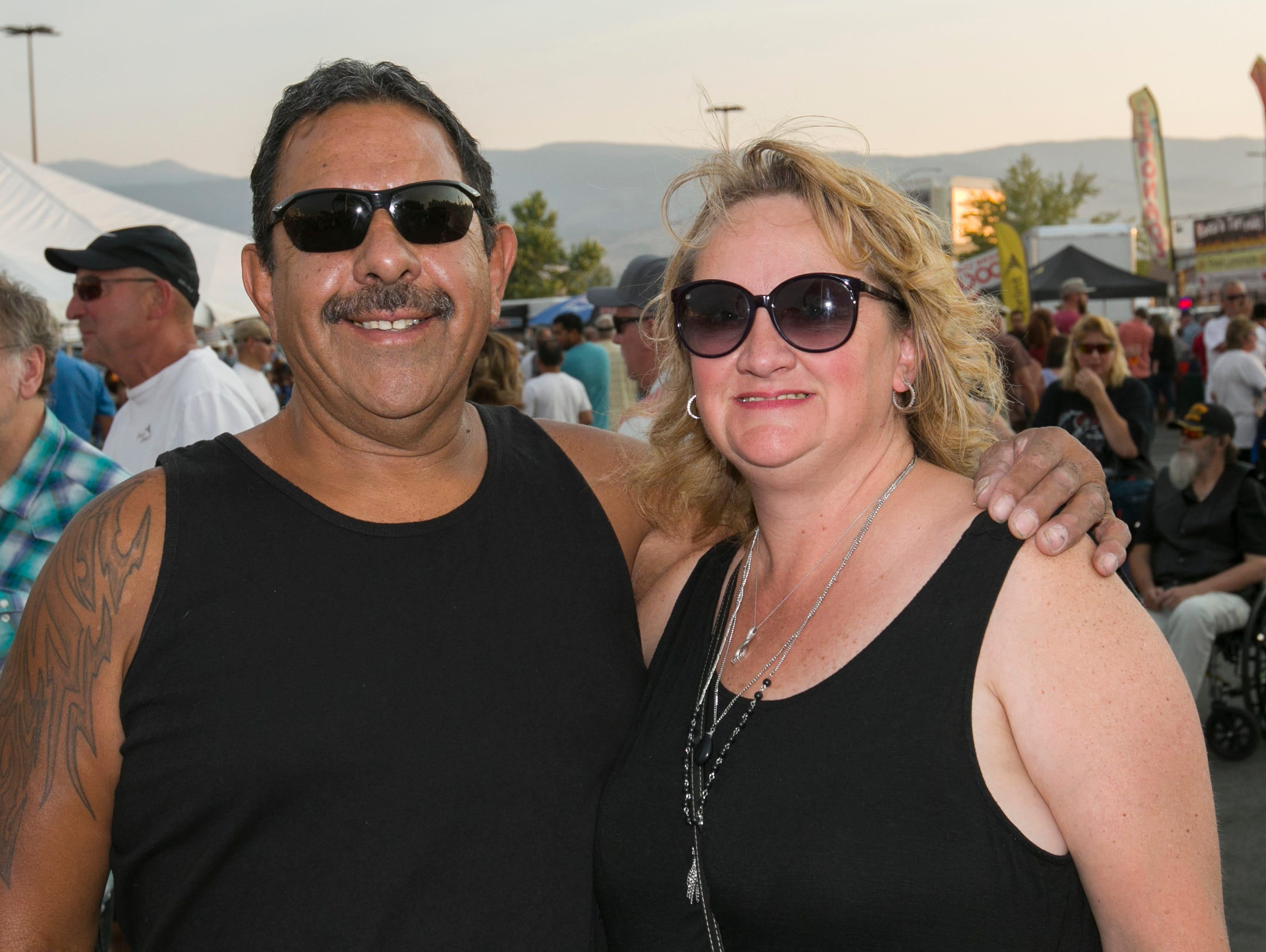 Marty and Julie during the Starship Concert during Hot August Nights at the Grand Sierra Resort on Friday, August 10, 2018.