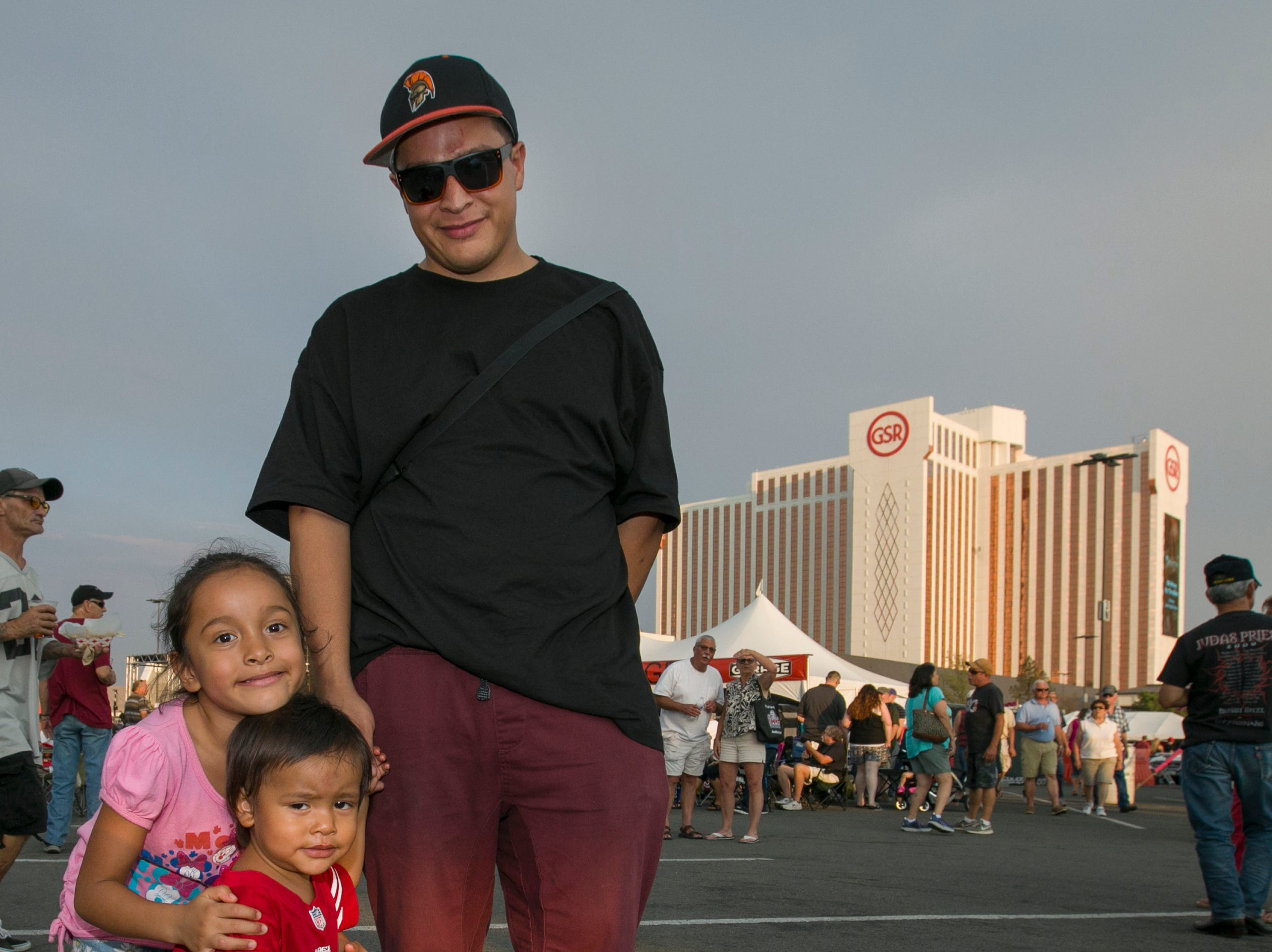 The Saldana family during the Starship Concert during Hot August Nights at the Grand Sierra Resort on Friday, August 10, 2018.