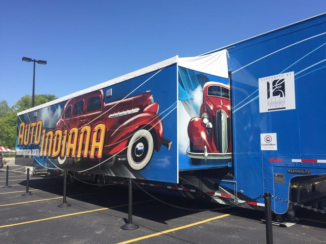 The Indiana Historical Society's traveling History on Wheels exhibit will be in Hagerstown Aug. 17-18, 2018.