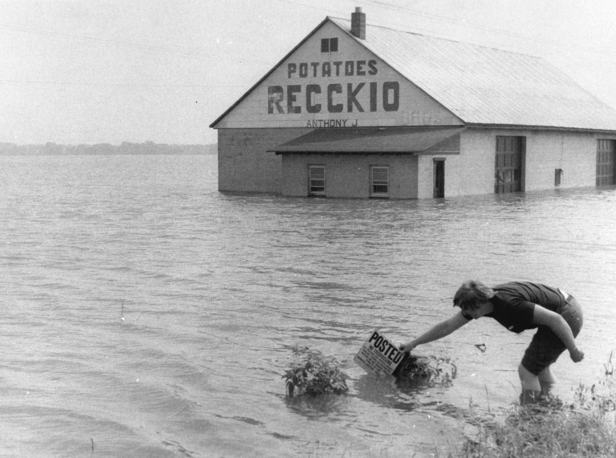 1972 flooding in Wayne County.