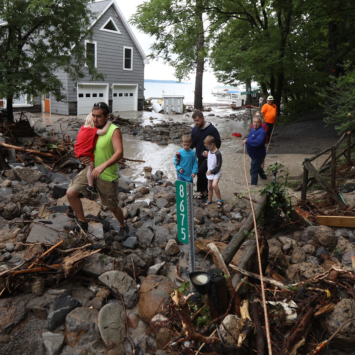 Amid widespread flooding, Seneca Lake fares the worst