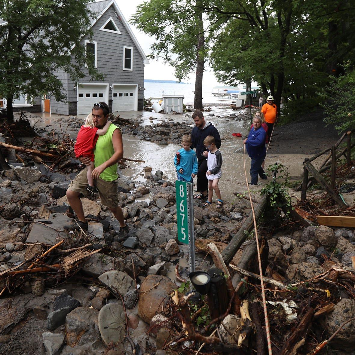 Amid widespread flooding, Seneca Lake fares the worst