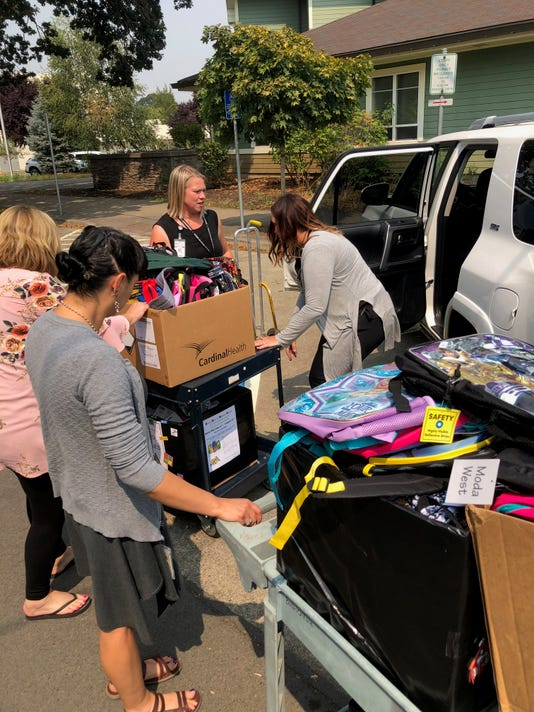 Salem Health Backpack Drive