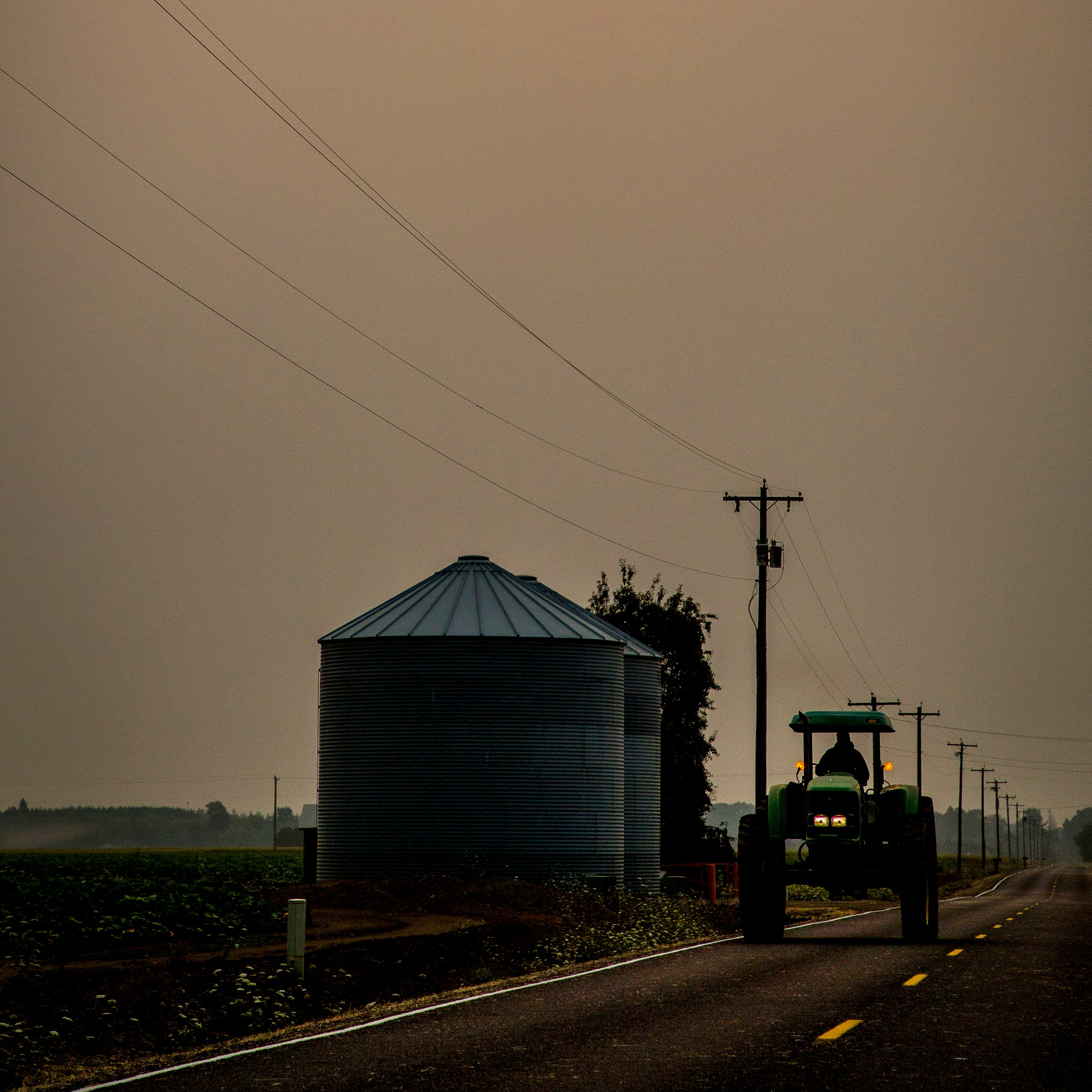 Oregon air quality: Wildfire smoke returns to Salem