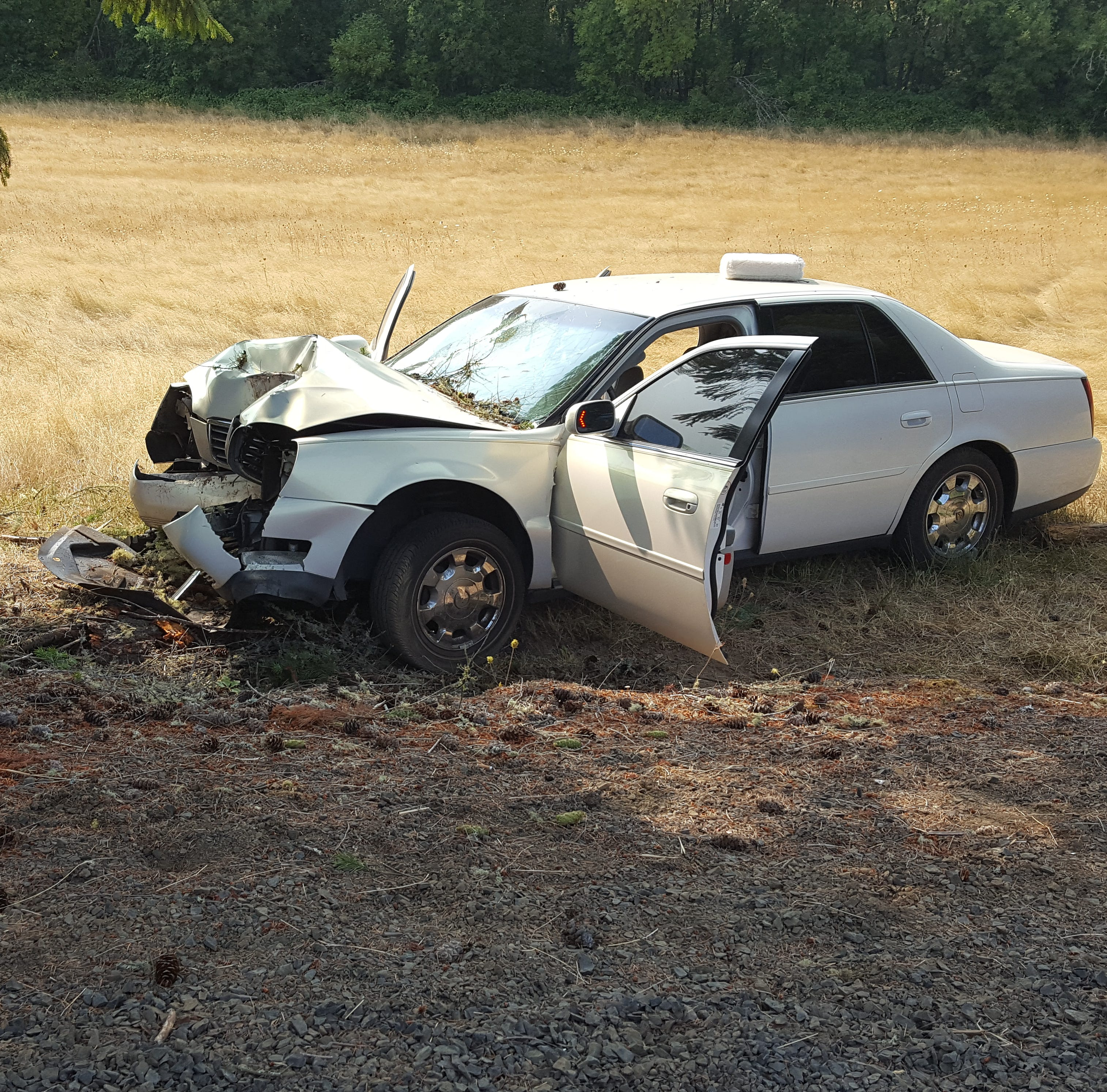 A Monday car crash left a Salem woman dead.