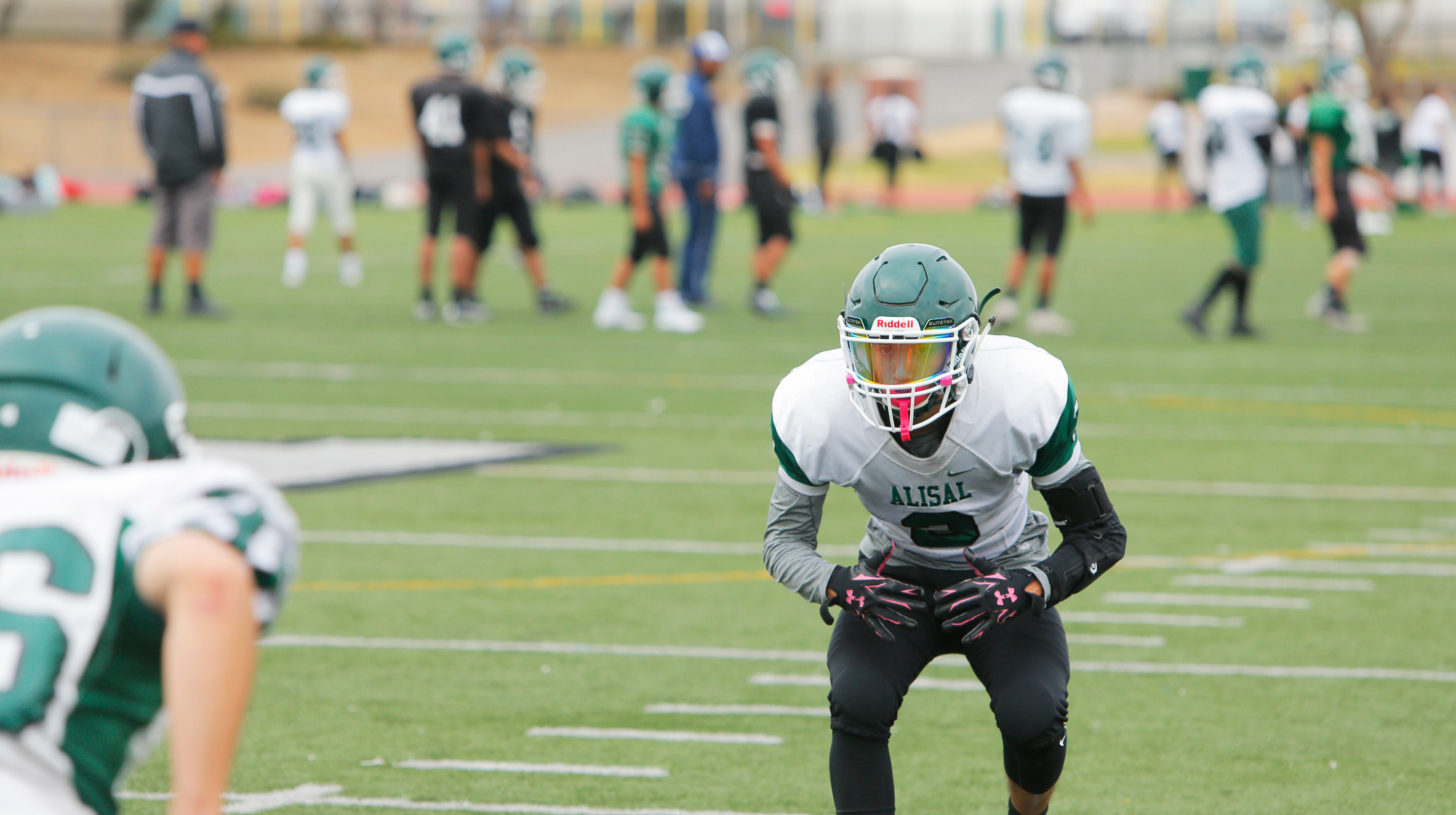 One of the best aspects of the Alisal football team last season was its defense. The unit gave up just 10 points per game during its six-game win streak to close the regular season and into the playoffs.
