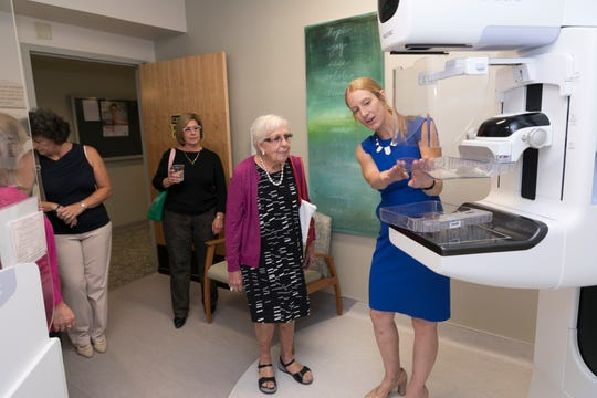 In hopes of diagnosing breast cancer earlier, the Salinas Valley Memorial Healthcare System now offers Genius 3D mammography exams at the Nancy Ausonio Mammography Center. The technology was unveiled during an open house last week.