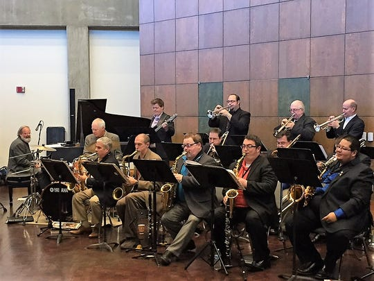 The West Texas Jazz Orchestra was founded and is directed by James Bode.