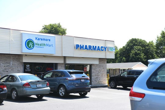 Wasim Amir, Pharmacist, chased off robbers at his Princess Anne Karemore Pharmacy on Monday, August 13, 2018.