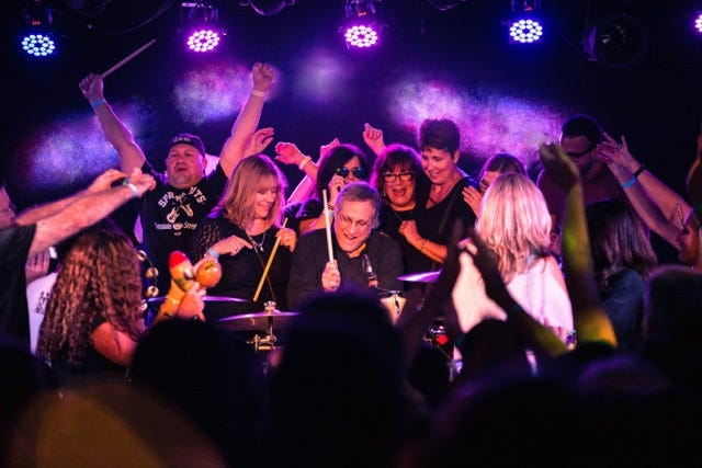 """Legendary rock drummer Max Weinberg will perform at the Big Chill Beach Club summer concert season finale in Bethany Beach with his new touring concept """"Jukebox."""" The 4-man band is interactive with the audience playing rock classics Friday, Aug. 24."""