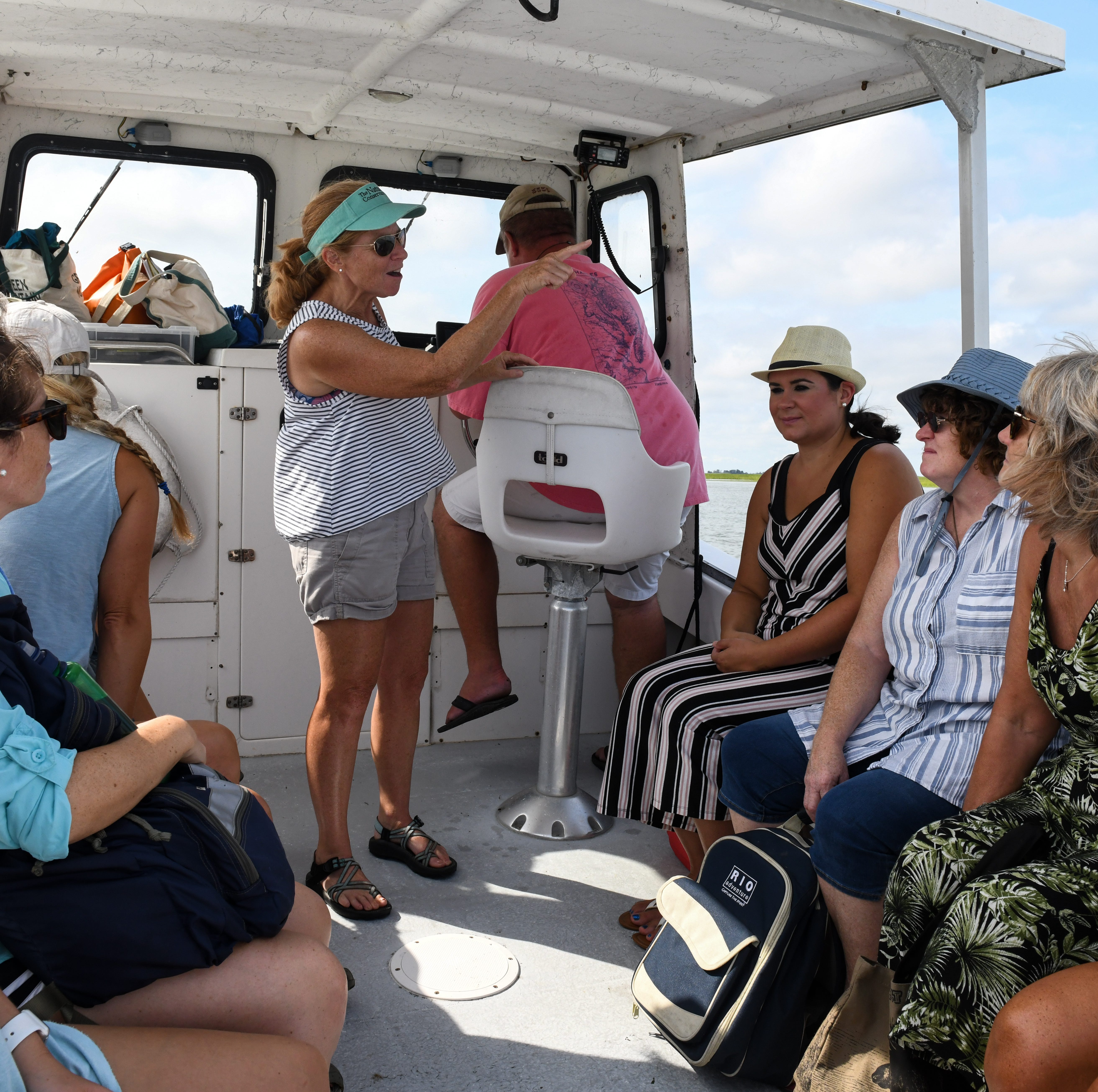 PHOTOS: New teachers learn to bring unique Virginia nature into the classroom