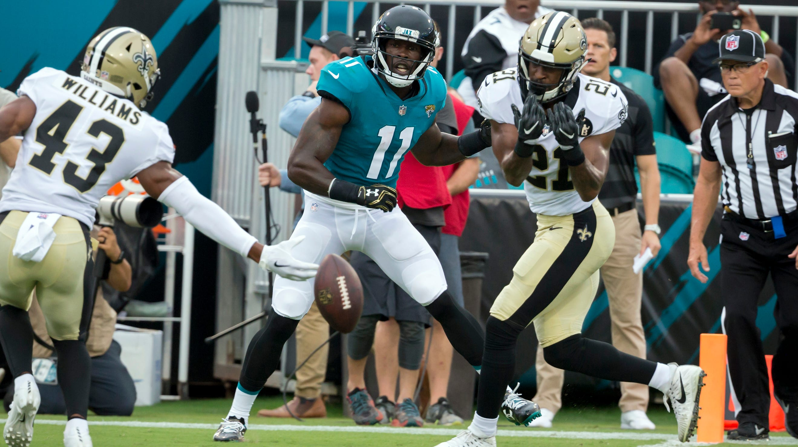 Cornerback returns to New Orleans after successful stint in Philadelpia.