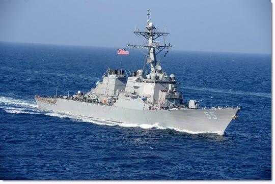 U.S. Navy guided-missile destroyer U.S.S. Stout (DDG 55)
