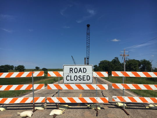 A Moody County bridge three miles east of Interstate 29 at the Ward exit failed in May 2016. With the help of state Bridge Improvement Grant money, the county is replacing the bridge. Work is expected to be completed by early November.