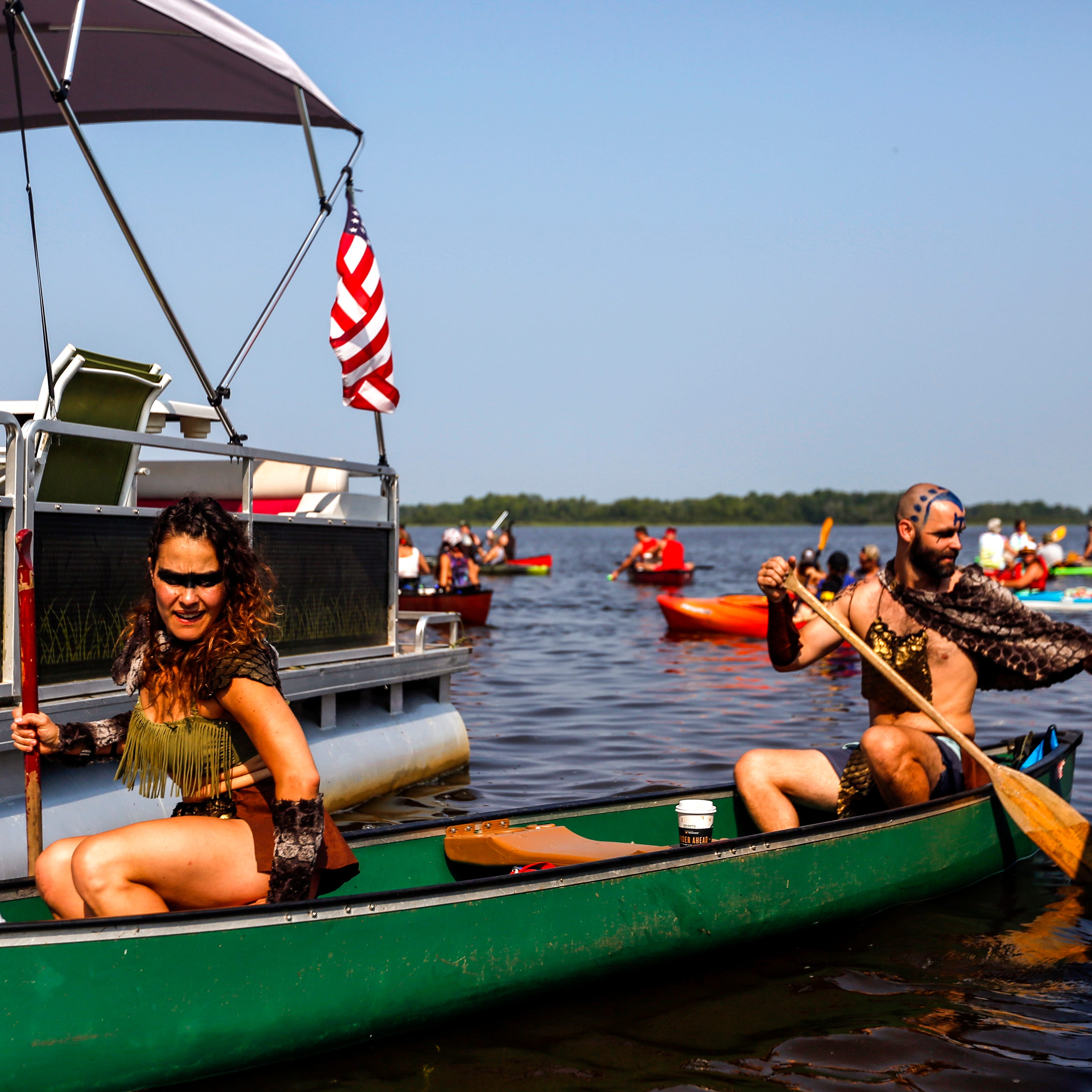 Inside PaddleQuest, the kayak race that has pirates, time travel and lots of beer