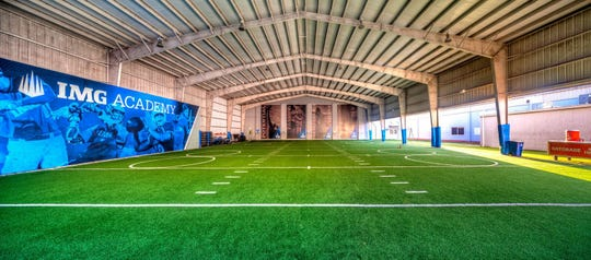 An indoor facility on IMG Academy's campus in Bradenton.