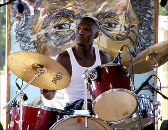 Blues royalty Cedric Burnside is back at The Bradfordville Blues Club on Saturday night.