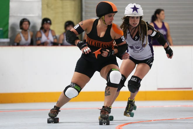 Get ready for in-house action with mostly new members at the roller derby when the Legislators take on the Sinators squad, both from the Tallahassee RollerGirls,at 7 p.m. Saturday at Tallahassee Indoor Sports, 130 Four Points Way. Ticket prices range from $4 to $10. Fans are asked to bring along folding chairs, cushions and blankets because bleacher space is very limited. Visit Tallahasseerollergirls.com.