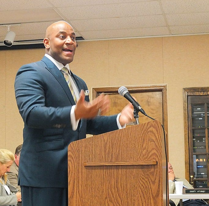 Terence Arrington, candidate for city manager