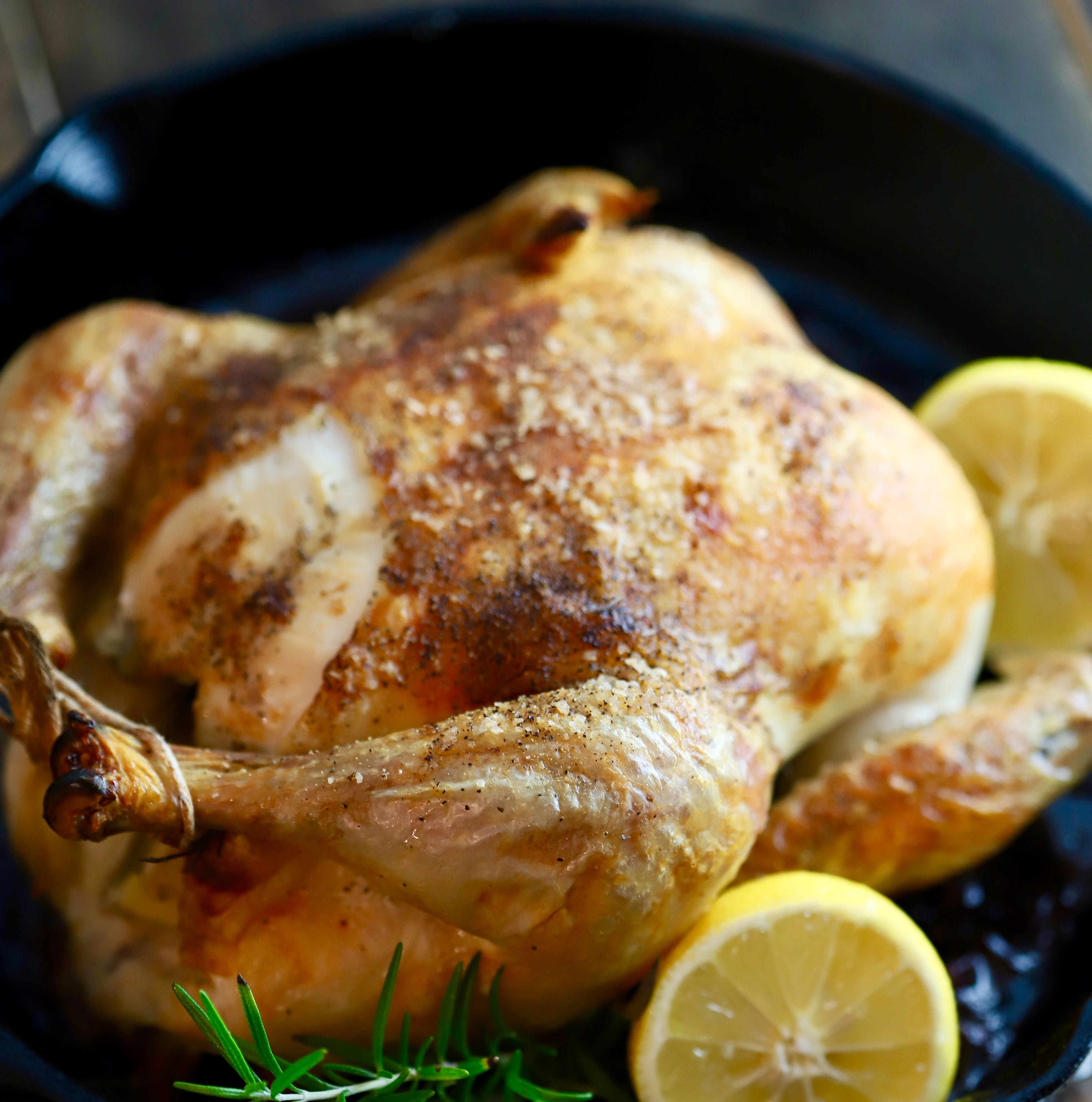 Put a crispy roasted chicken in every cast iron pot