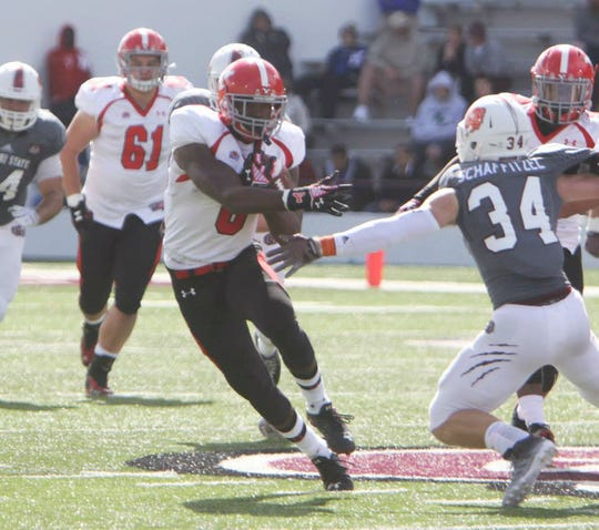 Jelani Berassa shows off his elusive moves at Youngstown State.