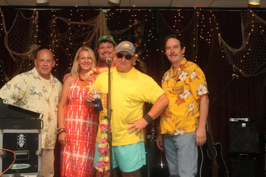 Dress up like a pirate looking at 40 or your fave song character when the 14th Annual ParrotHead Phrenzy runs from 6 to 11:30 p.m. Saturday at The Moon, 1105 E. Lafayette St. Jason Webb & The Caribben Chillers (shown here) will supply the Jimmy Buffett tunes and beach-inspired songs. There will be silent auctions galore and an open bar. The money raised will benefit Caregivers in the Big Bend Area. Tickets are $30 general public and $25 for Parrothead Club members. For more, visit moonevents.com.