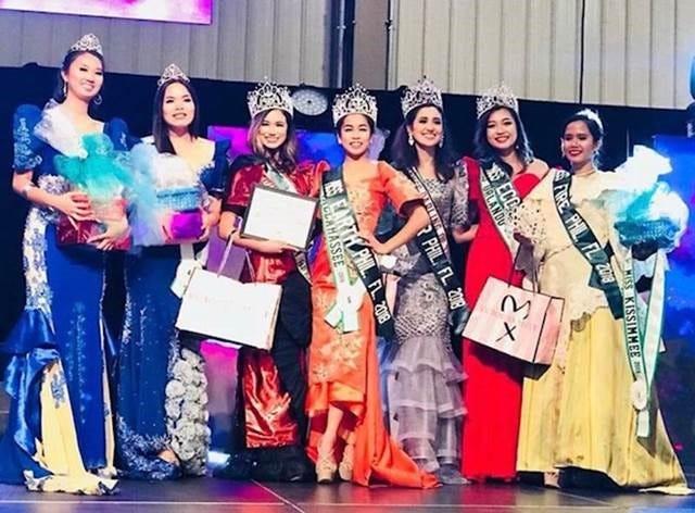 2018 Miss Tallahassee, Erica Adrienne Lustria, won the prestigious Miss Earth Philippines-Florida title.