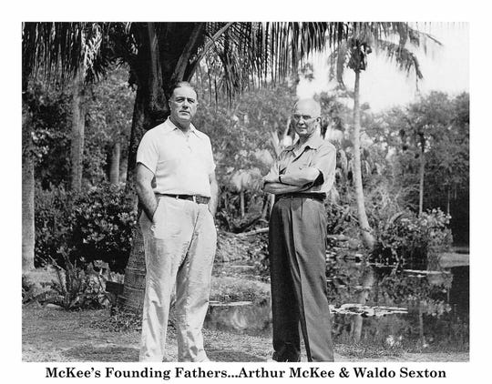 McKee's founding fathers Waldo Sexton and Arthur McKee.