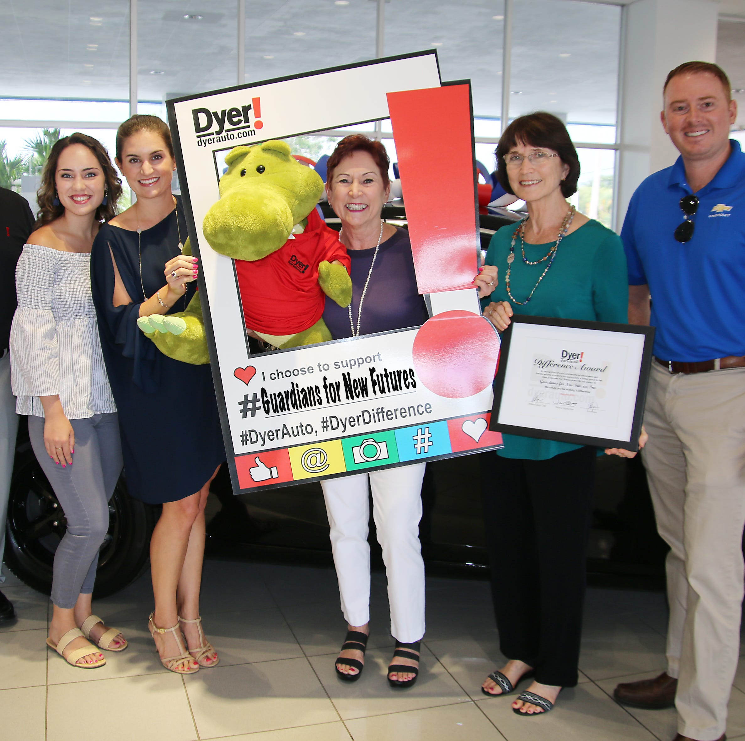 Dyer Automotive Group putting new spin on August's Dyer Difference Award: You pick a charity!