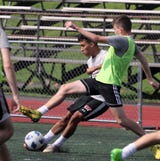 After playing last year for the U.S. Soccer Development Academy, Jorge Umana is teamed with Ciaran Shalvey again for their senior season.