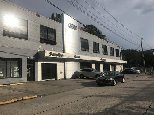 The Classic Audi service center on North MacQuesten Parkway in Mount Vernon, where Camilo Samayoa's 2008 Audi A4 was stolen on Aug. 12, 2018.