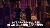 A 19-year-old man was shot in the leg Monday night in Wilmington.  Police say he's in stable condition.  8/14/18