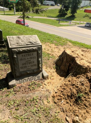 """Tilton said the remains of """"Hoopes"""" have been identified and will be reburied."""