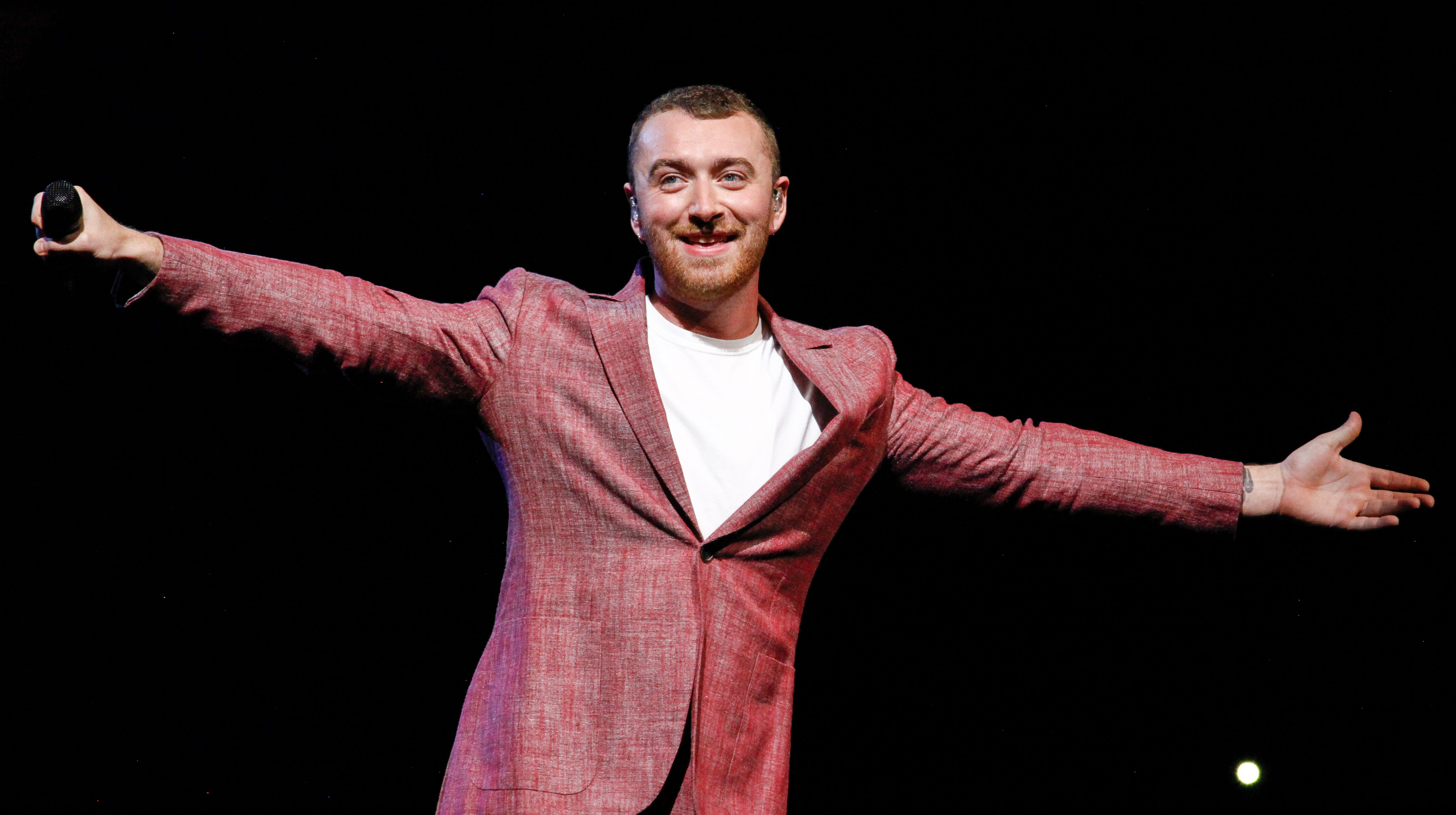 Sam Smith performs at Madison Square Garden on Friday, June 29, 2018, in New York.
