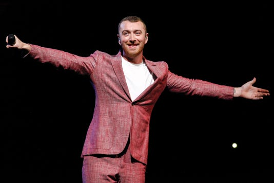 Ap Sam Smith In Concert New York A Ent Usa Ny