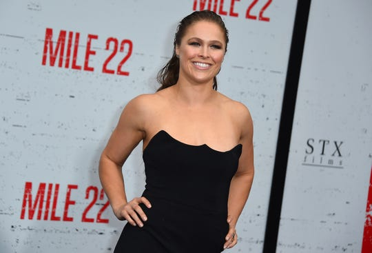 Former mixed martial artist Ronda Rousey is finding success in Hollywood and pro wrestling.