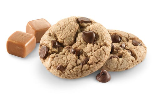 The Caramel Chocolate Chip cookie is new to the 2019 Girls Scouts season.