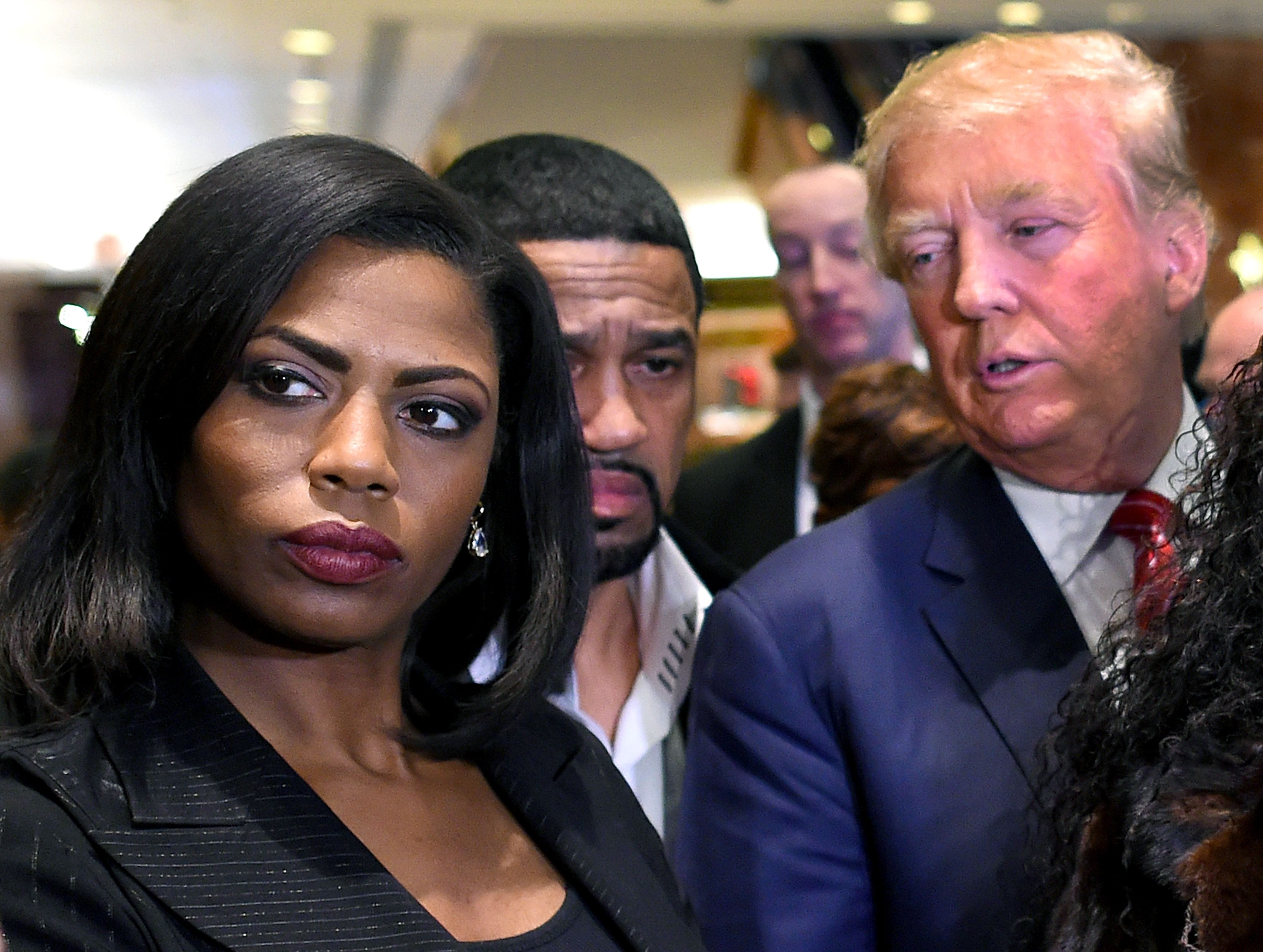 New Omarosa tape has aides talking about Donald Trump possibly using racial slur